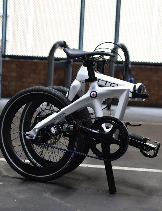 Austin Cycles ATTO commuter bike
