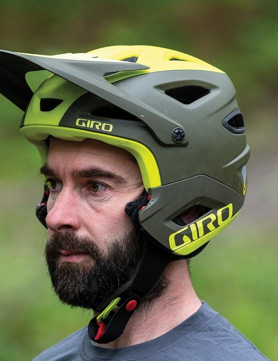 giro Switchblade MIPS convertible helmet in open mode