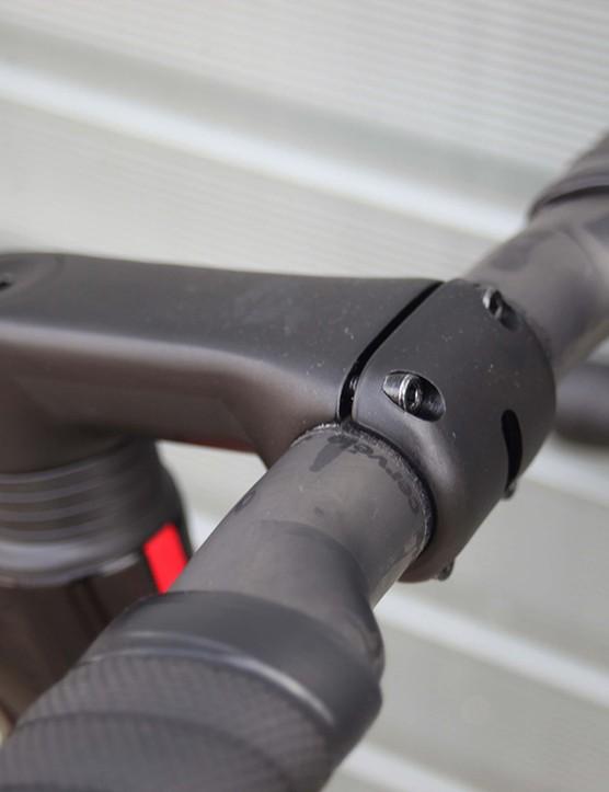 bar and stem on cervelo s3 road bike