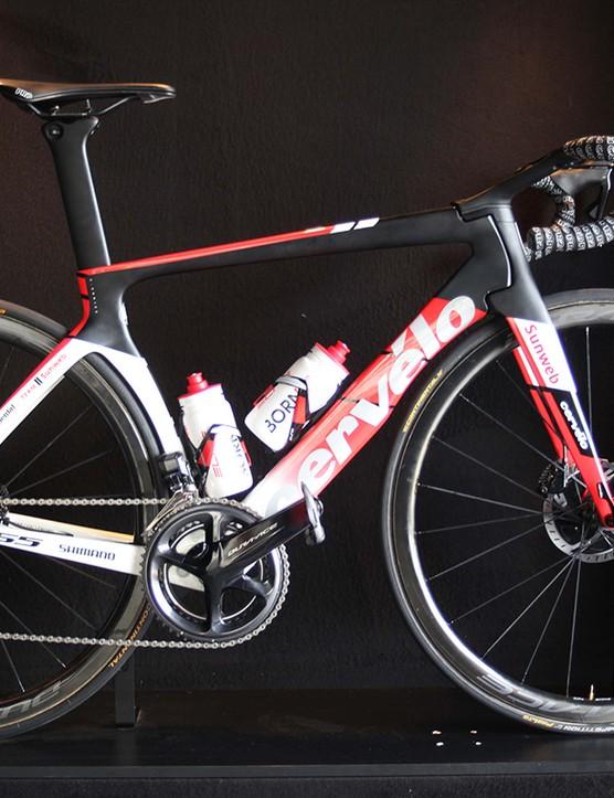 Sunweb livered S5 road bike