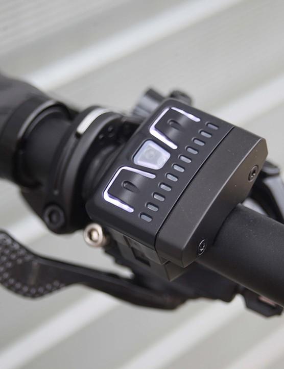 Fazua controller on white focus road e-bike