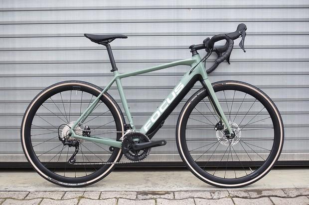 Green focus Paralane2 gravel bike