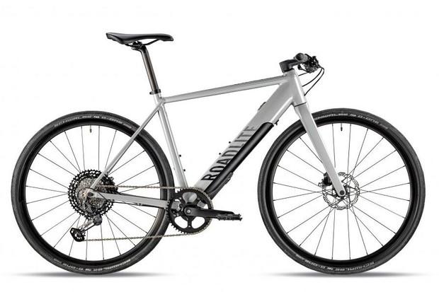 Canyon Roadlite:ON 2020 bike on white background