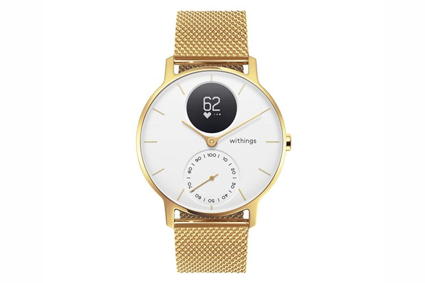 Withings gold smartwatch discount at Amazon