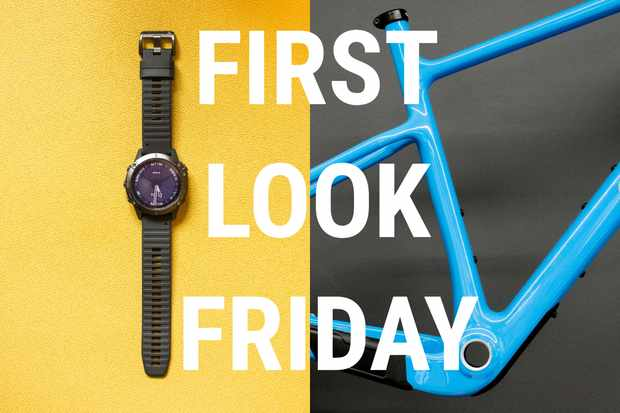 Smartwatch and MTB frame
