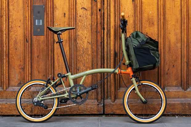 Brompton Explore adventure bike | Eurobike 2019 - BikeRadar