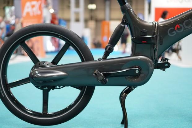 Gocycle GXi drivetrain kickstand