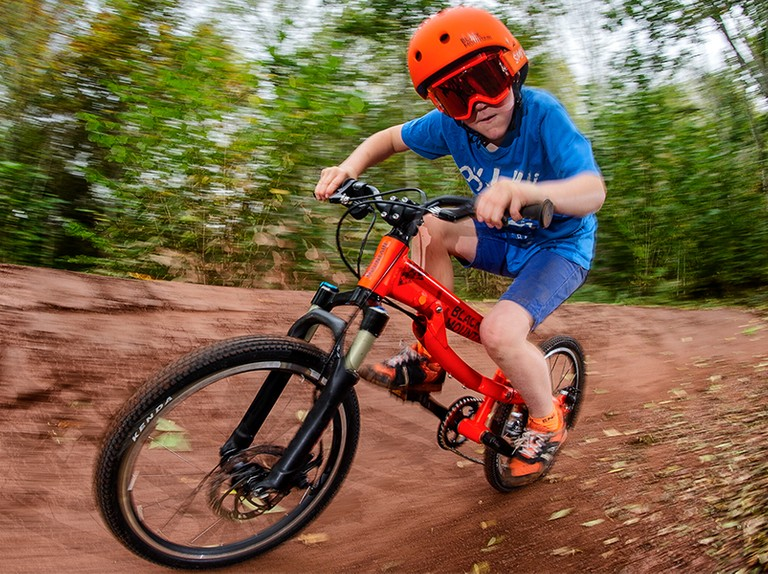 Black Mountain's size-adjustable bikes will grow with your child