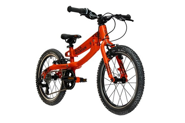 The Black Mountain Kapel children's bike is the smaller of the two models