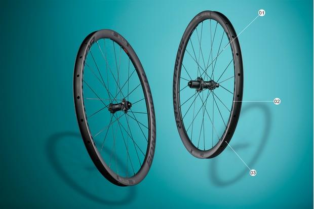 tubeless ready road cycling wheels