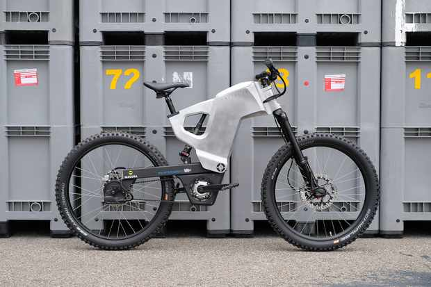 Trefecta RDR prototype electric bike
