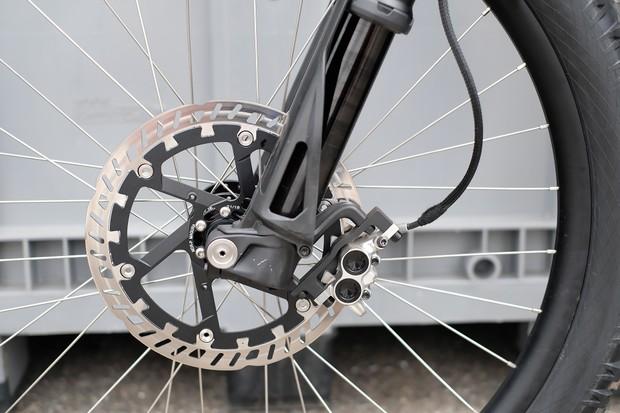 Magura brake of Trefecta RDR prototype bike