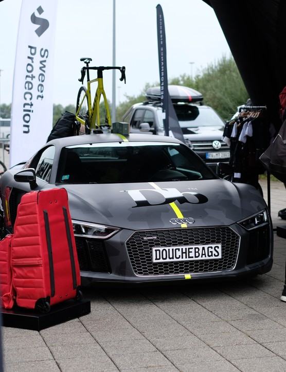 Douchebags Audi at Eurobike 2019