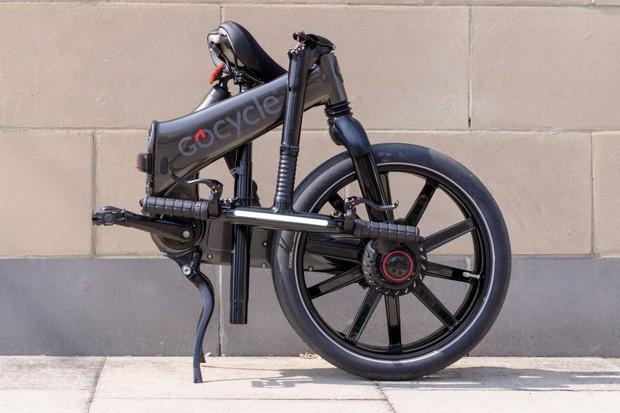 Gocycle GXi folded