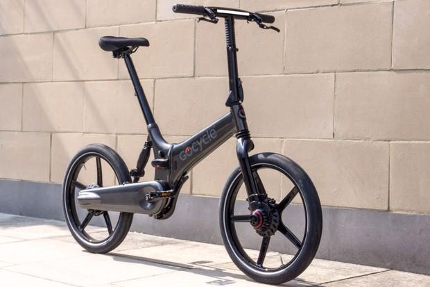 Gocycle GXi unfolded