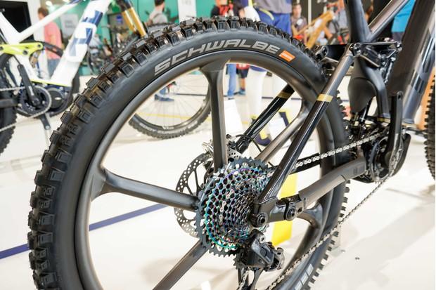 Husqvarna Hardcross e-MTB rear wheel