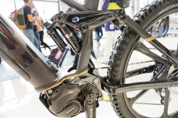 Husqvarna Hardcross e-MTB rear suspension