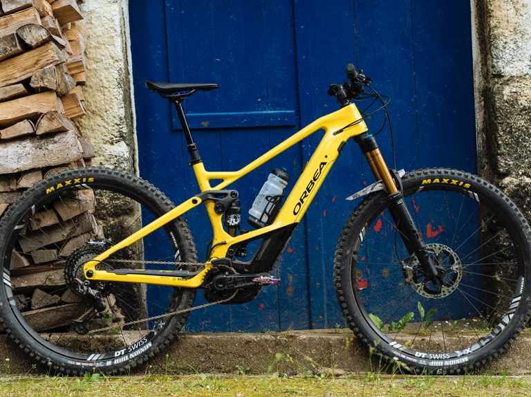 The Orbea Wild FS is a burly trail 29er with Bosch's latest, greatest motor and piggyback potential
