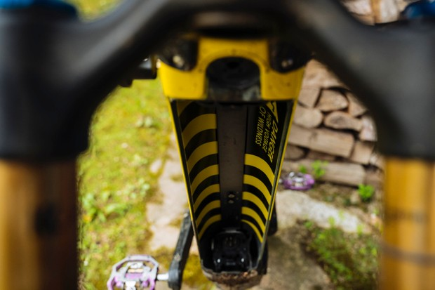 Orbea Wild FS cable routing