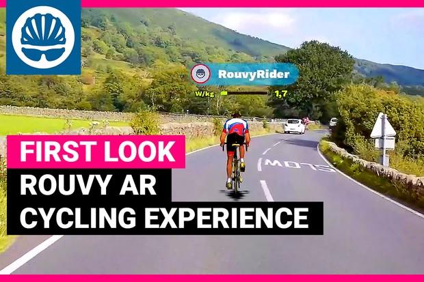 Indoor cycling app screenshot