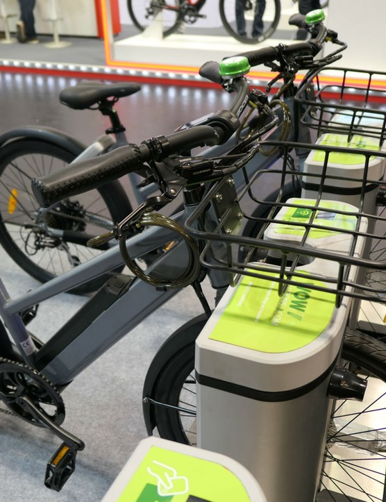e-bike docking stations