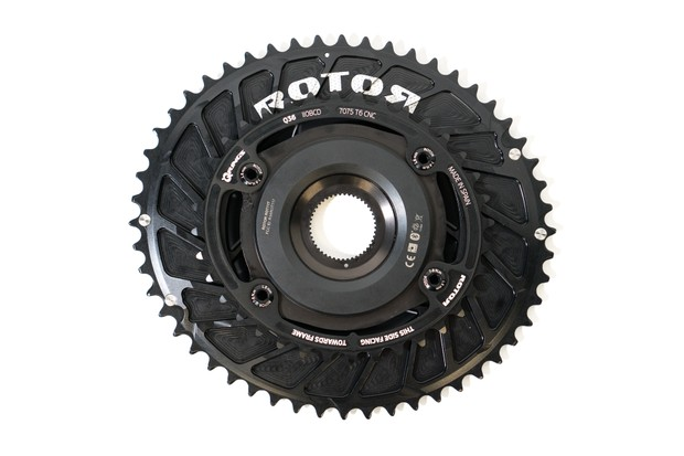 Rotor INspider power meter on chainrings