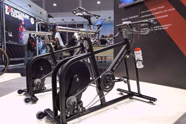 SRM launches its own indoor training bike | Eurobike 2019
