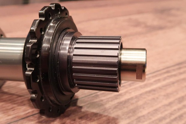 Shimano debuted its 12-speed Micro Spline freehub with the launch of XTR M9100