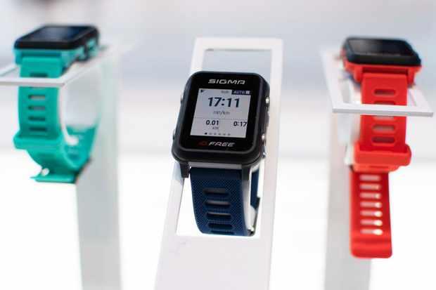 Sigma smartwatch