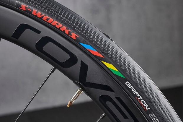 Turbo tyres on Specialized Tarmac Disc Expert