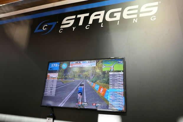 Zwift screen setup