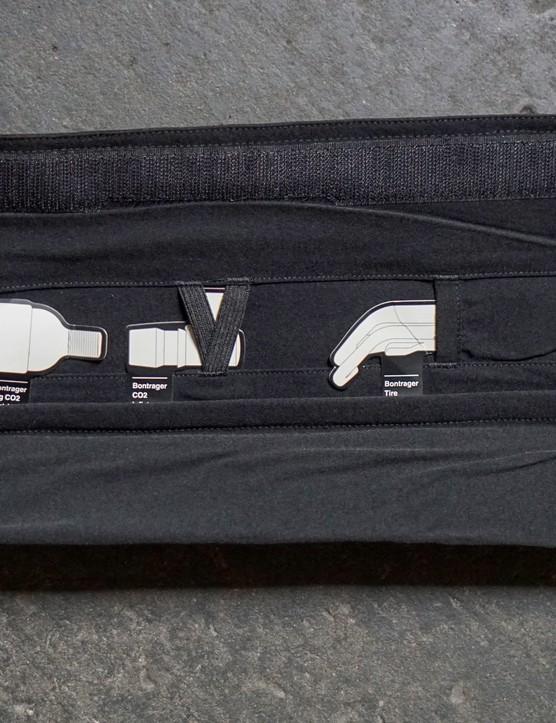Trek Domane SL 7 roll bag interior