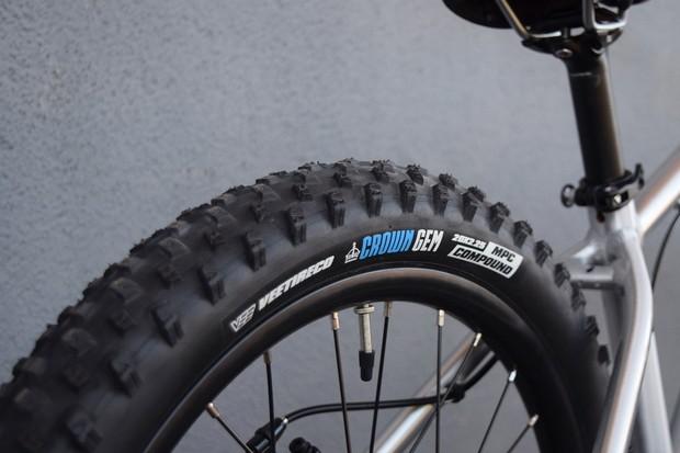 crown gem tyre on child bike