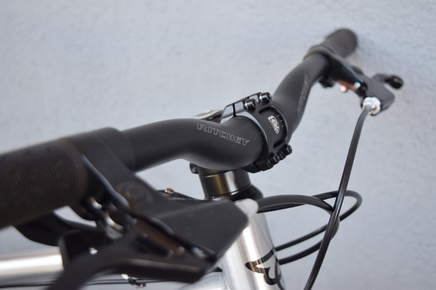 Handlebar on child's bike