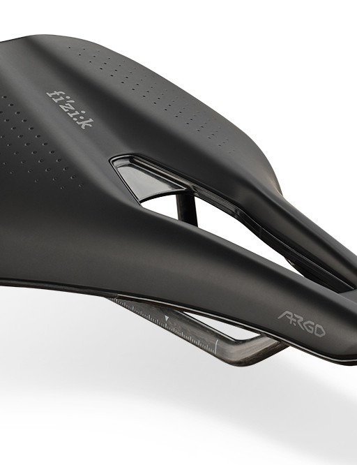 black argo road cycling saddle from fizik