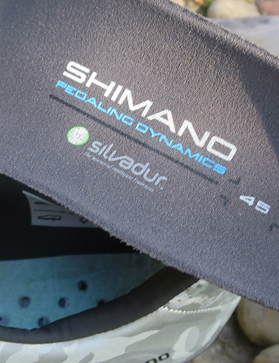 order resistant insole from road cycling shoe