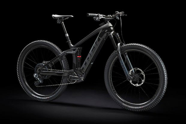 Trek Rail Full-Suspension E-Mountain Bike