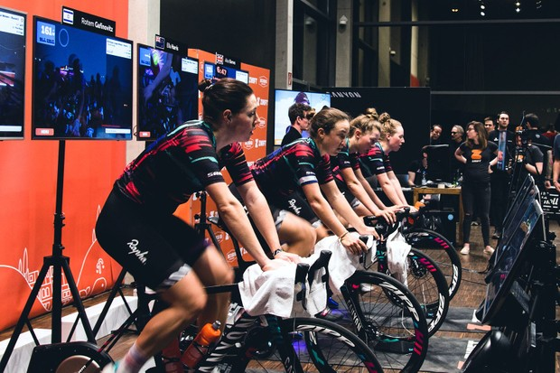 Zwift Women's League with CANYON//SRAM