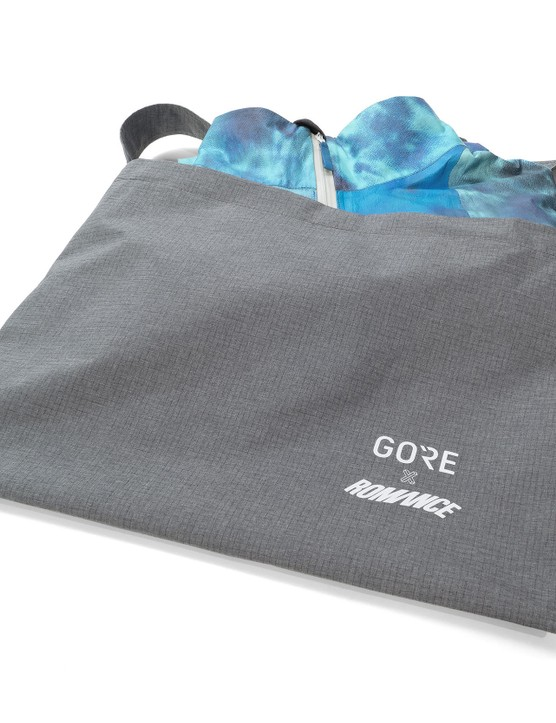 Gore x Romance branded musette
