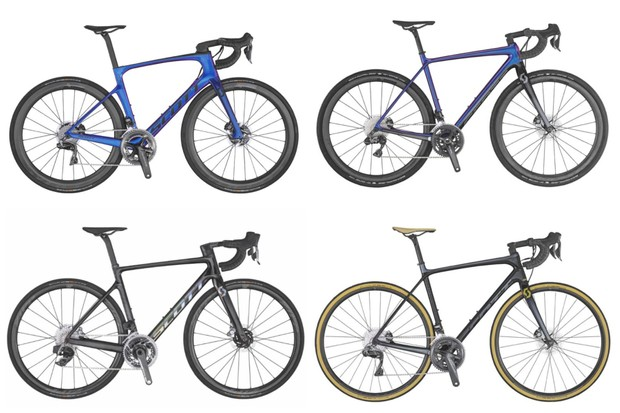Scott's new 2020 road bike range