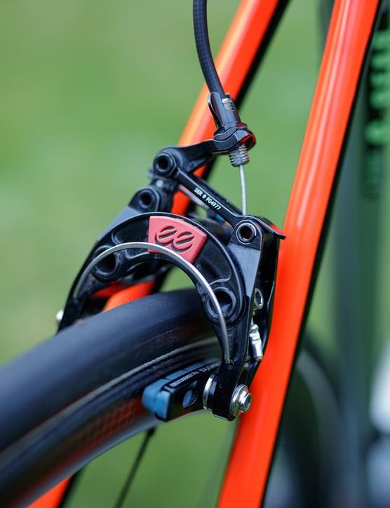 cane creek rim brakes on cannondale road bike
