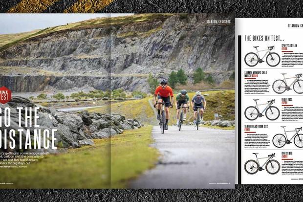 Titanium bikes put to the test