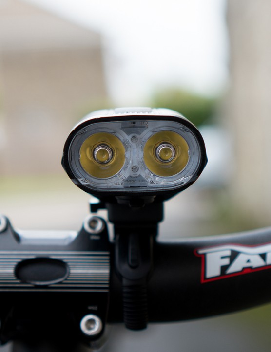 twin led mountain bike front light
