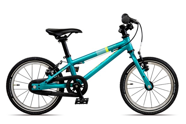 The Islabikes Cnoc 14 in teal