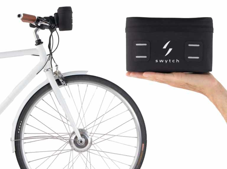 """Swytch launches """"the world's smallest and lightest"""" electric bike conversion kit"""