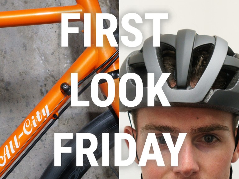 A go-fast steel bike, a new helmet from Genesis and... a stinky old running jacket
