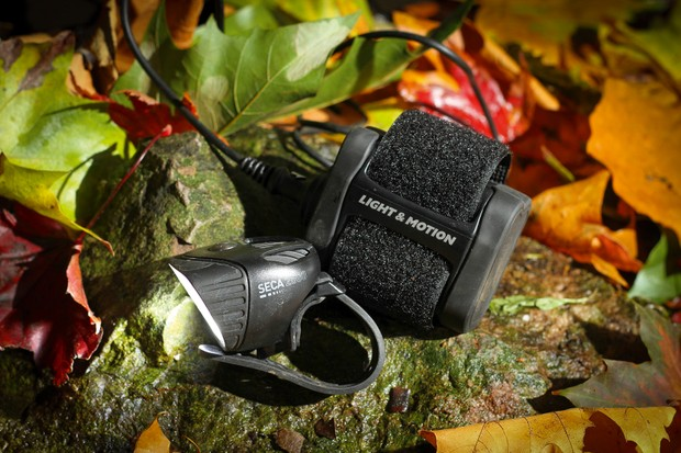 Light and Motion Seca Enduro with 6-cell battery