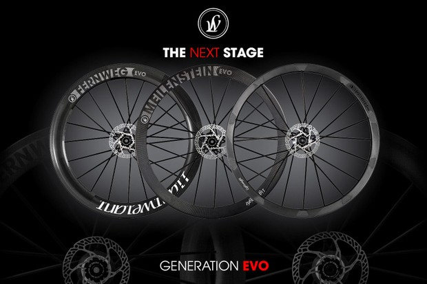 Lightweight tubeless evo range