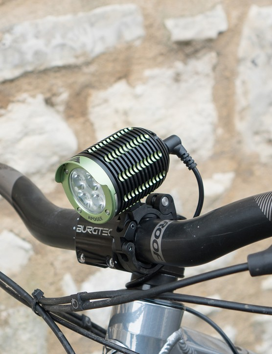 4 led front light for mountain bike