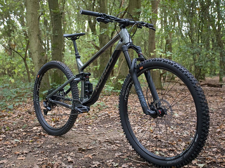 The 2020 Norco Optic is a short-travel, trail-slaying 29er shred sled